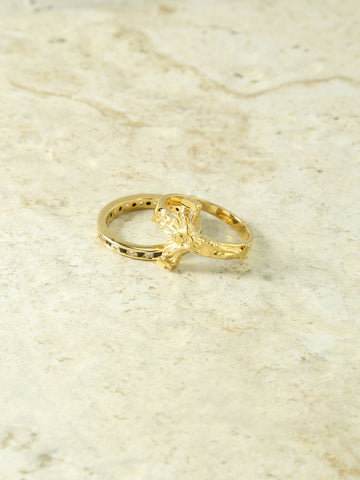 The Saint Rita Gold Rings