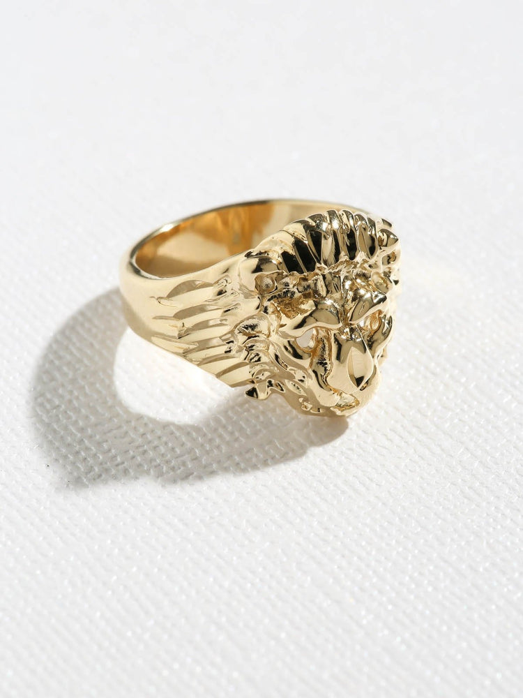 Rings The Unisex Lion Ring Vanessa Mooney