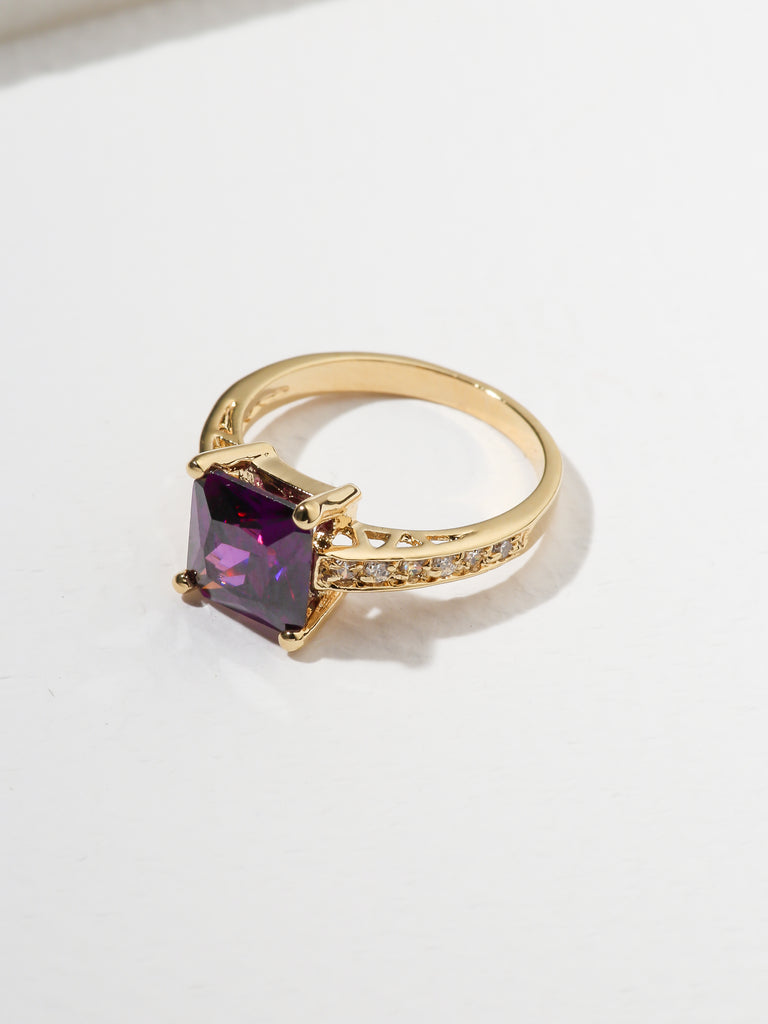 The Future Ring Purple