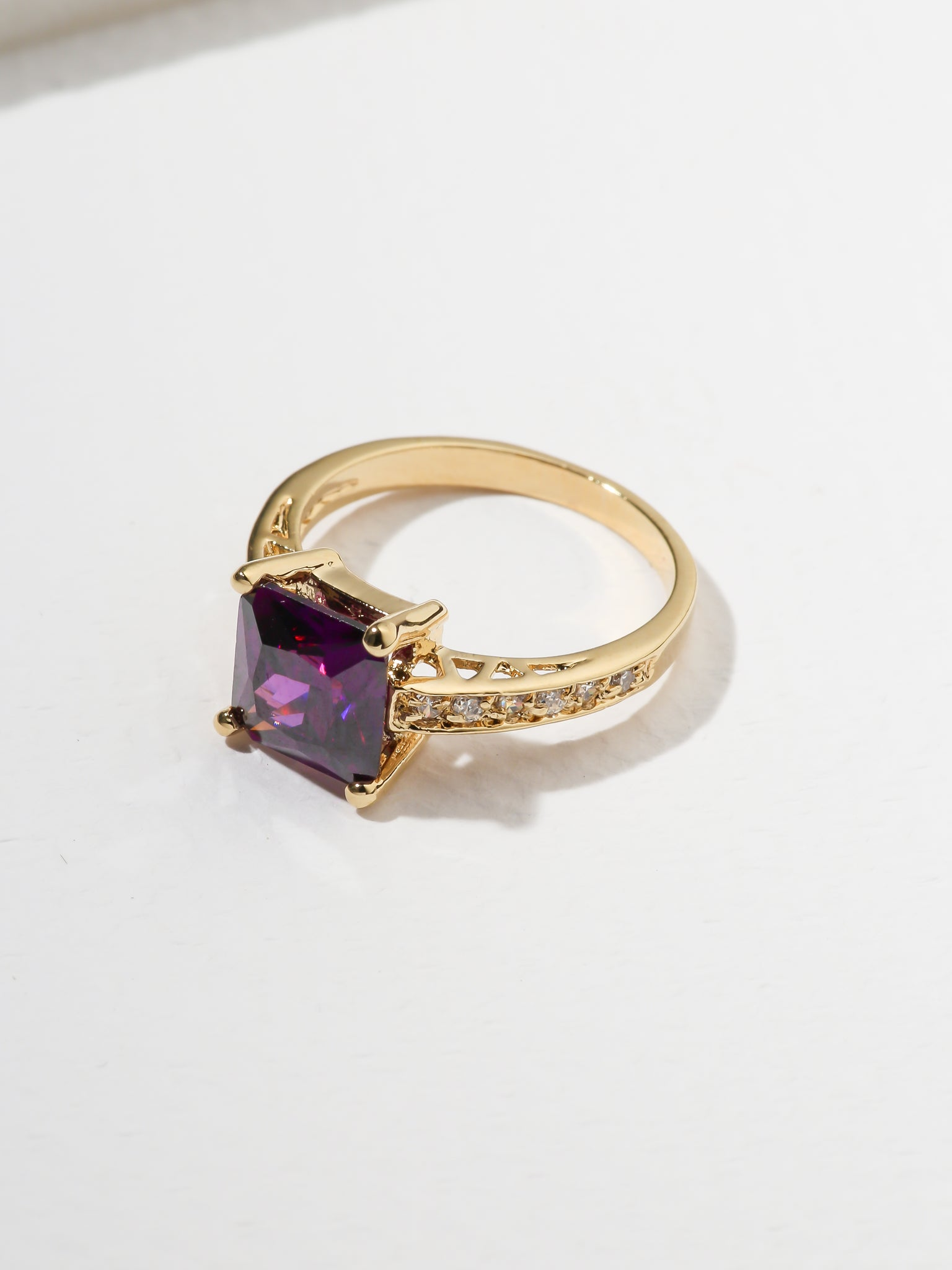 Sale Items The Future Ring - Purple Vanessa Mooney