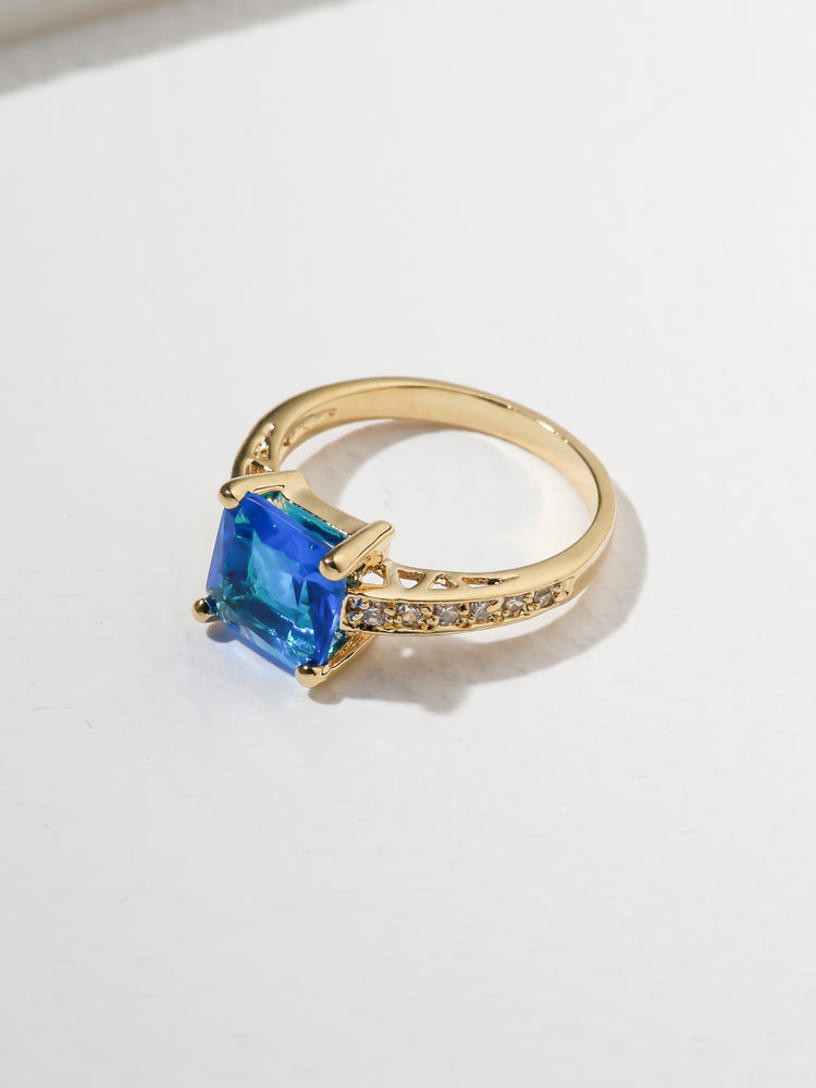 The Future Ring Aqua