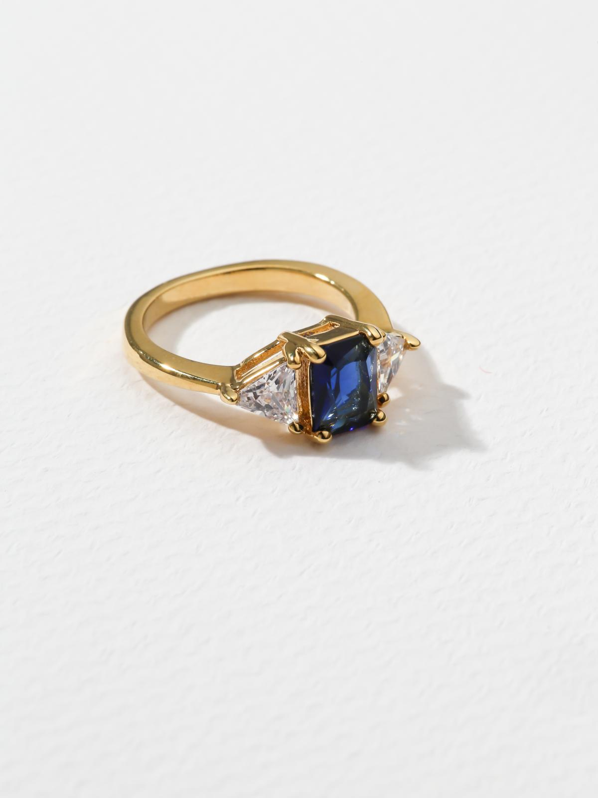 The Mystic Navy Ring