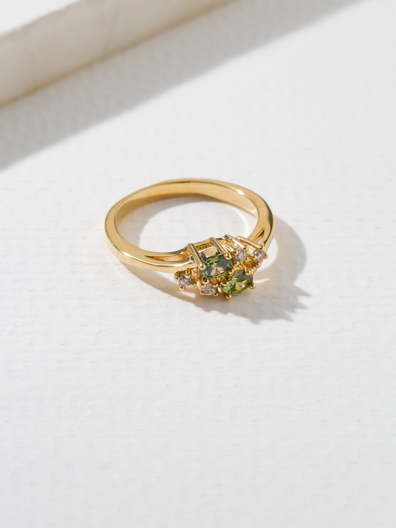 The Triumph Birthstone Ring Peridot
