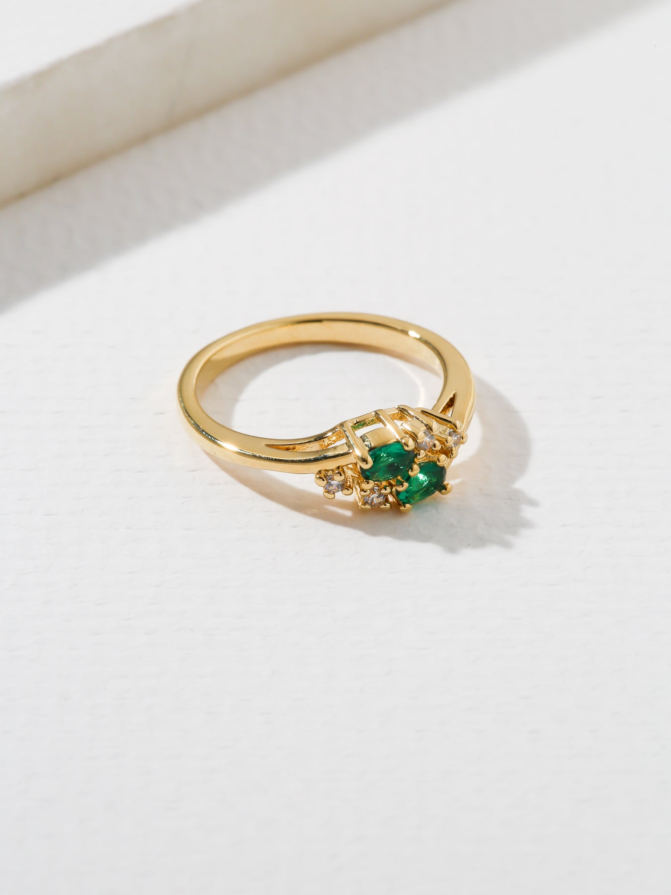 Rings The Triumph Birthstone Ring Emerald Vanessa Mooney