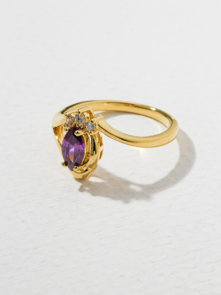 The Baby Doll Ring Purple
