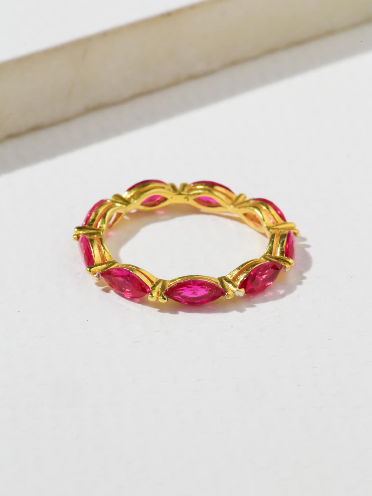 The Janet Ring - Pink