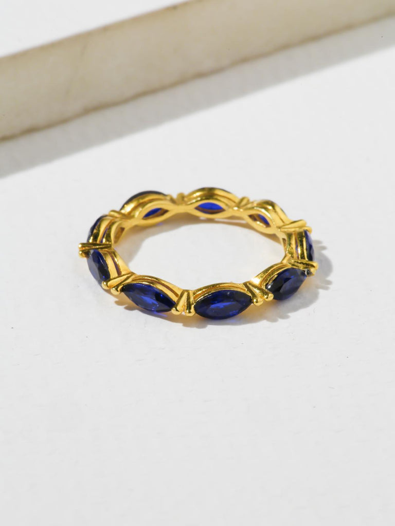 The Janet Ring - Navy