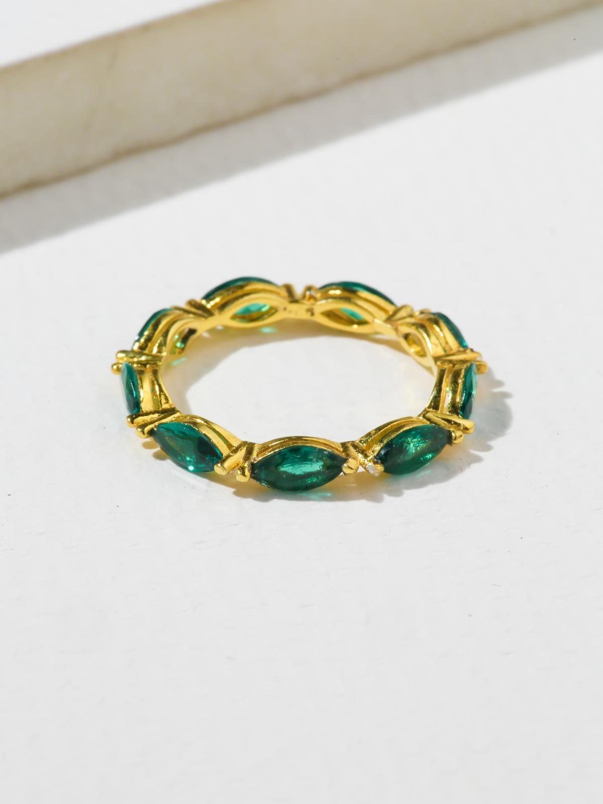 The Janet Ring - Emerald