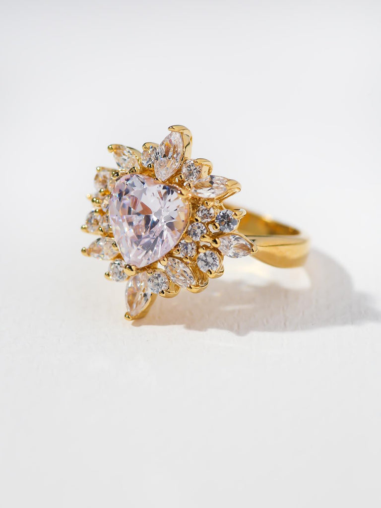 The Rosalind Heart Ring