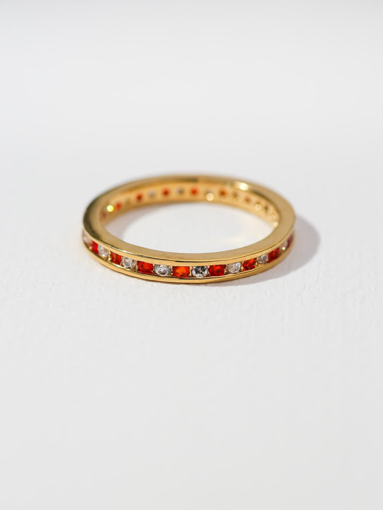 The Comet Ring – Red
