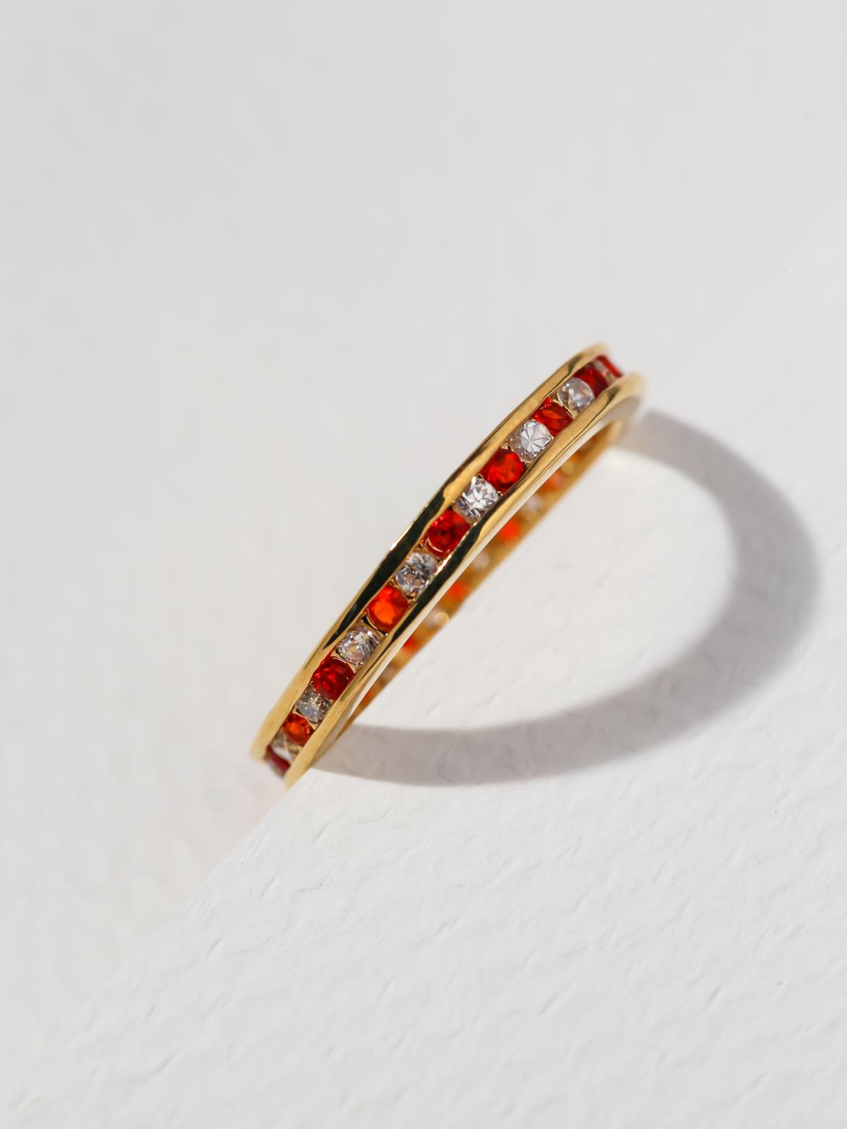 The Comet Ring - Red