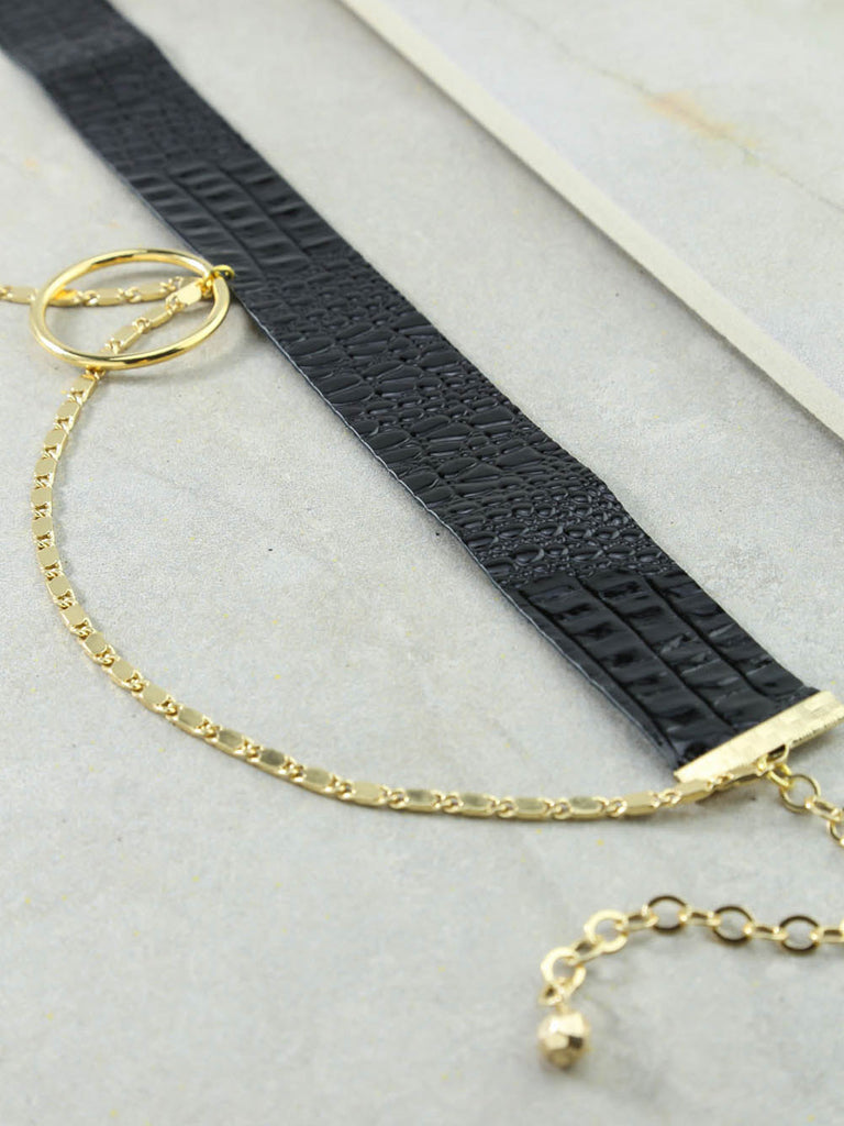 The Ash Gold Choker