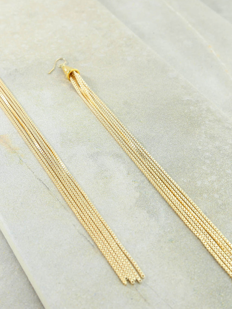 Earrings The Calista Gold Earrings Vanessa Mooney