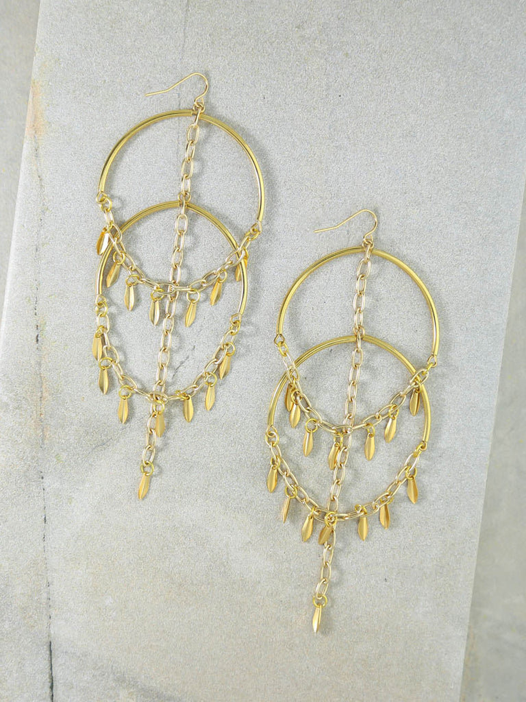The Cannes Gold Earrings