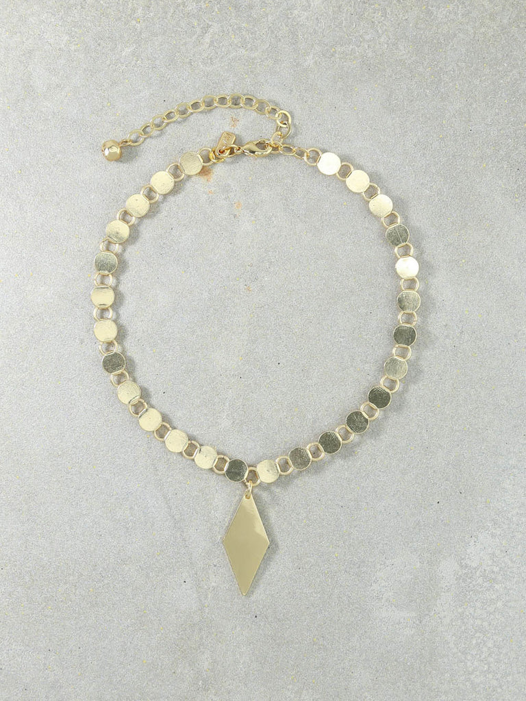 The Edie Gold Necklace