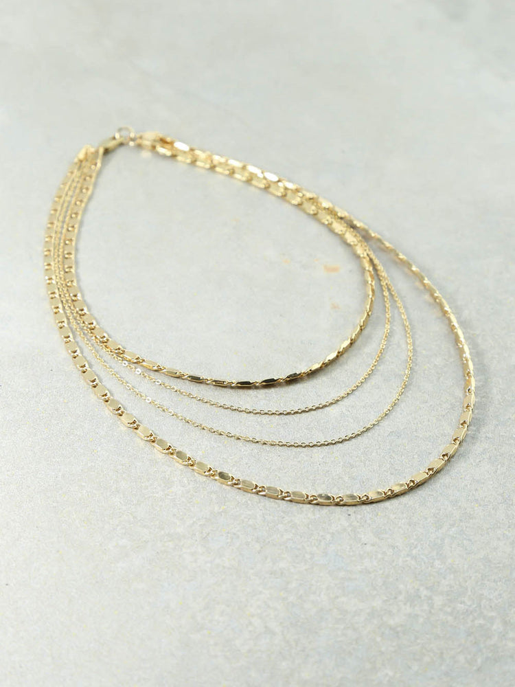 The Eiffel Gold Necklace