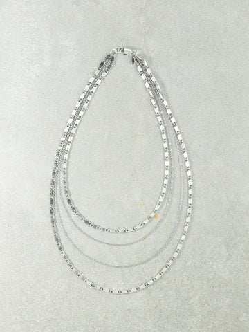 The Eiffel Silver Necklace