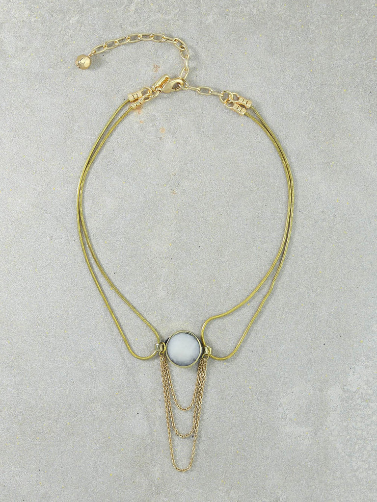 The Isabelle Gold Necklace
