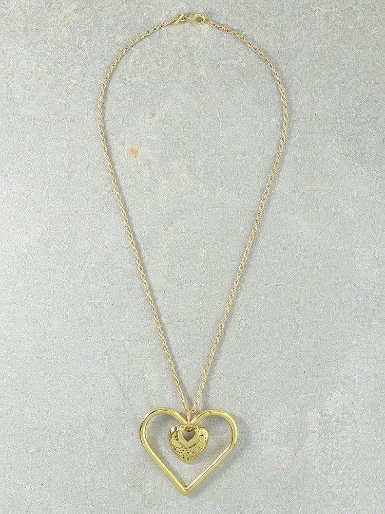 The Our Amour Gold Necklace
