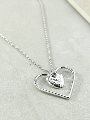 The Our Amour Silver Necklace