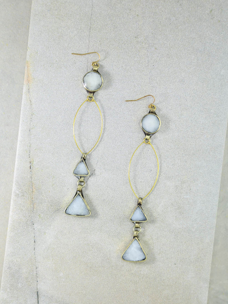 The Wynonna Gold Earrings