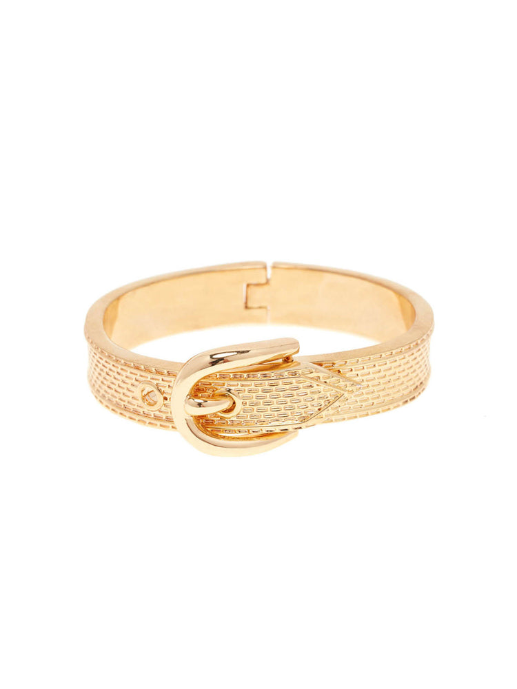 Vanessa Mooney Blondie Cuff Bracelet in Metallic Gold oAhpU0
