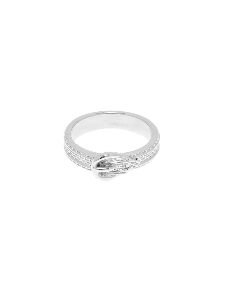 Vanessa Mooney The Queens Buckle Silver Ring