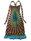 Vintage Indian Cotton Halter Dress