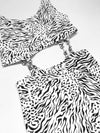 Vintage Items Vintage Zebra Crop Top Dress Vanessa Mooney