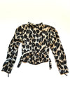 Vintage Items Vintage Cow Print Silk Jacket Vanessa Mooney