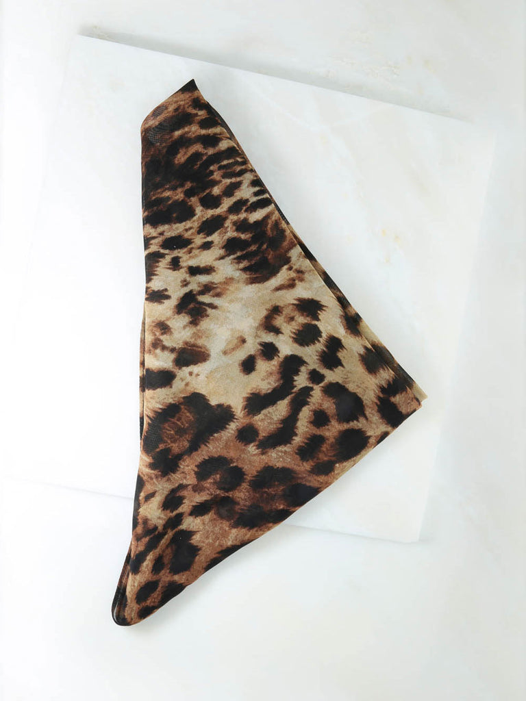 Bandanas The Leopard Rush Bandana Vanessa Mooney
