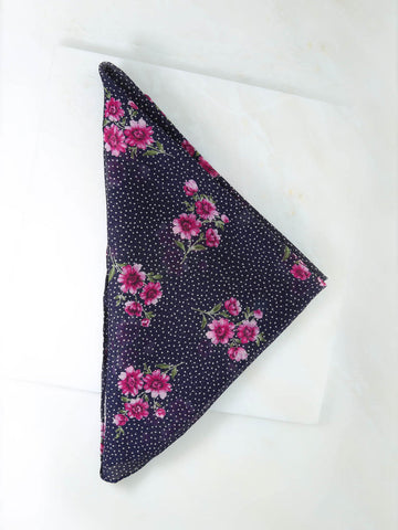 The Pink Flower Rush Bandana