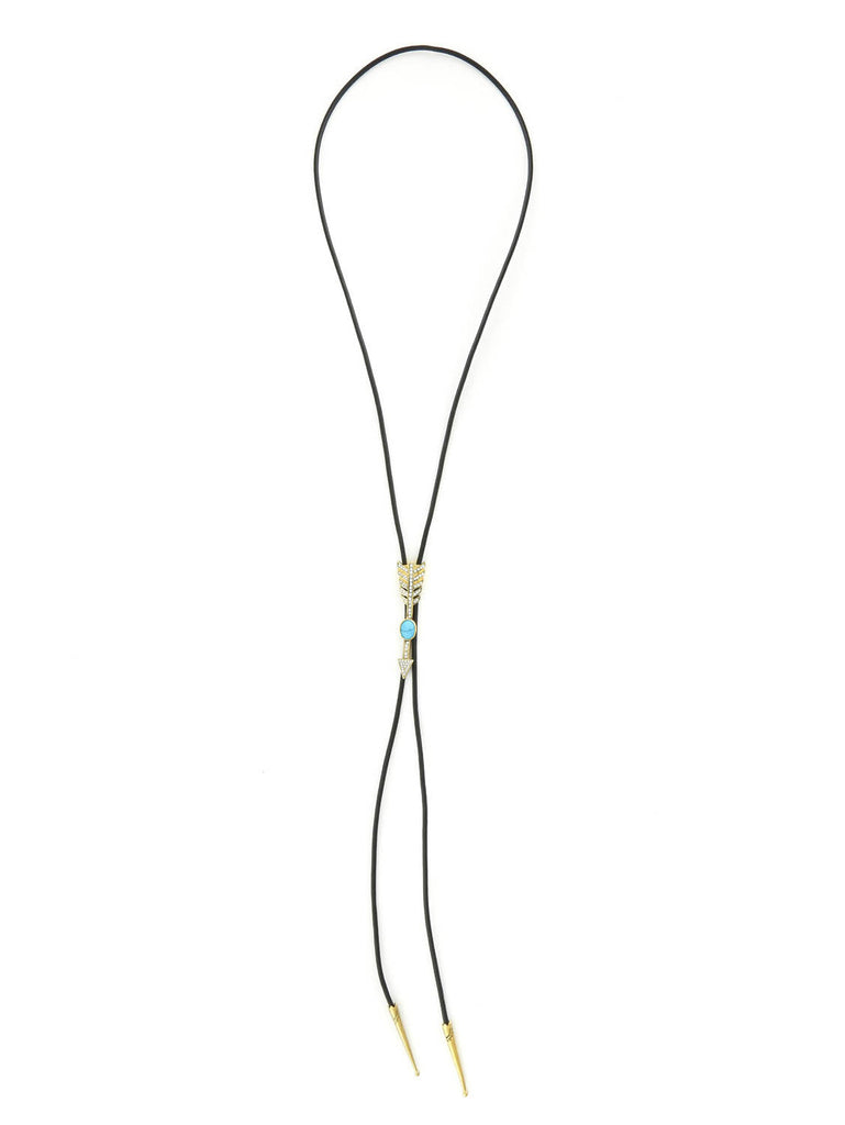 The Valley Gold/Turquoise Bolo