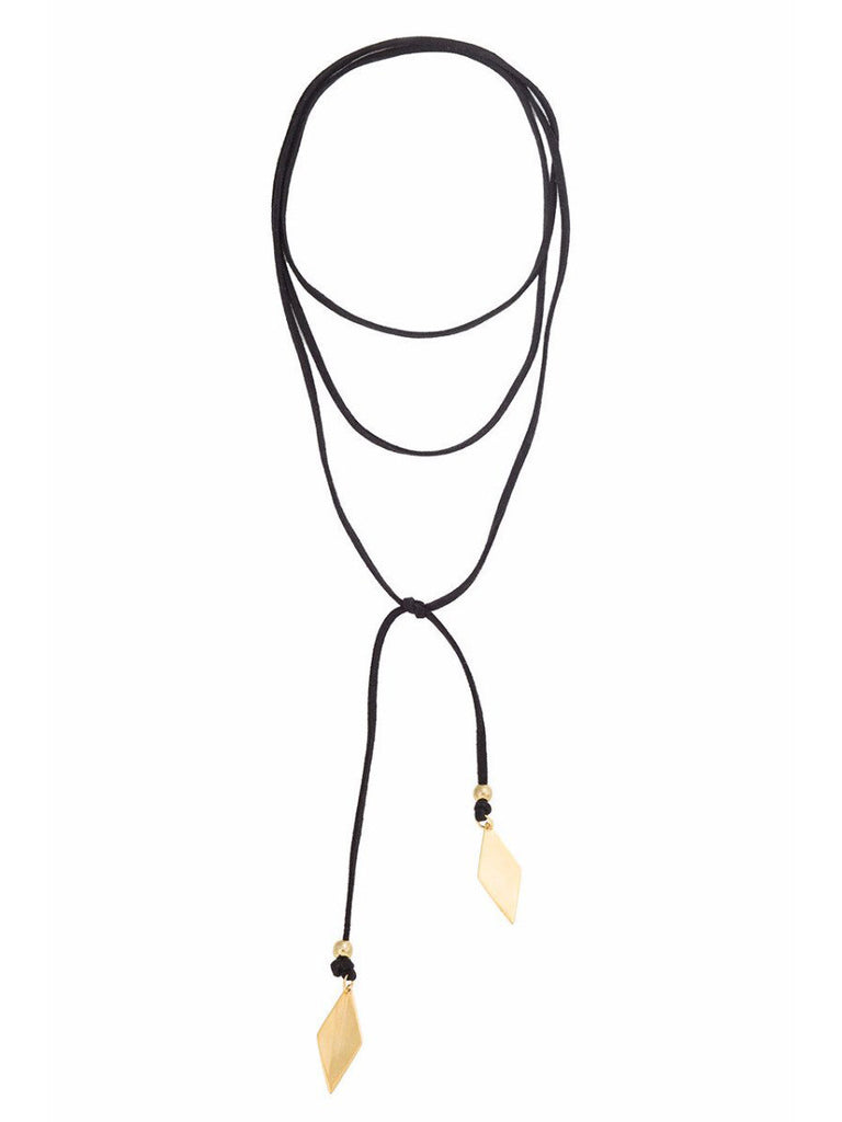Voltage Gold Diamond Bolo