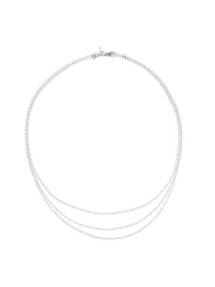 Necklaces The Tiny Dancer Silver Choker Vanessa Mooney