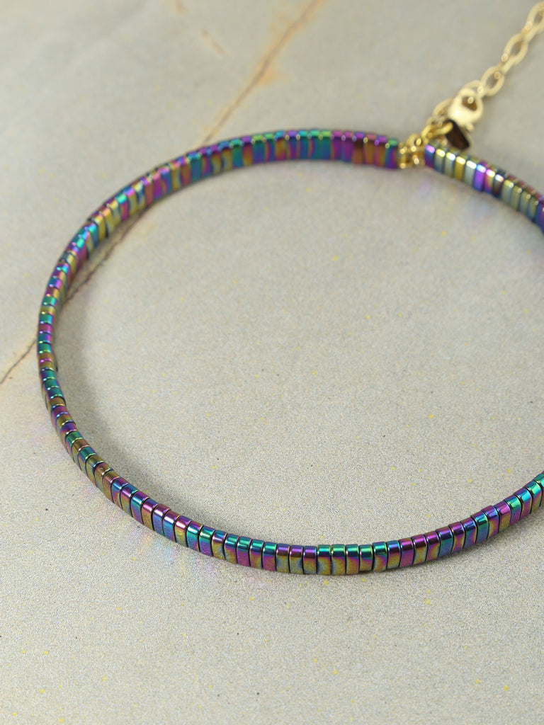 The Skylar Rainbow Choker