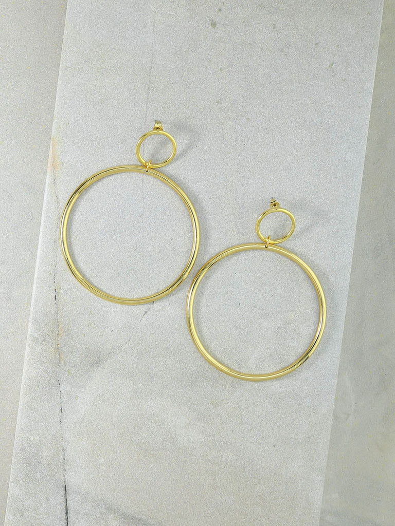 The Cadillac Gold Earrings