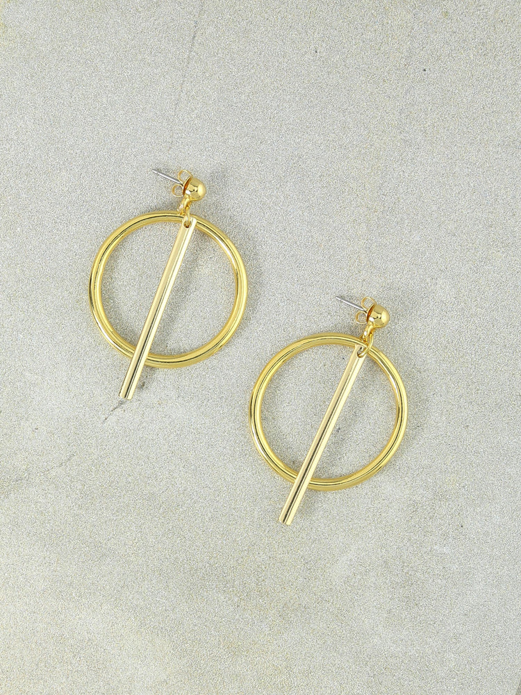 The Finn Gold Hoops