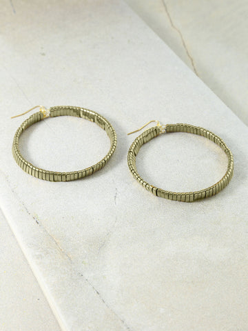 The Skylar Gold Hoops