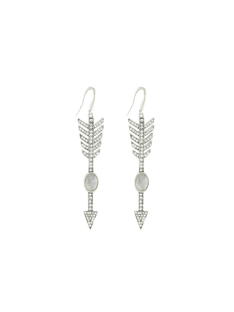 The Valley Silver Earrings