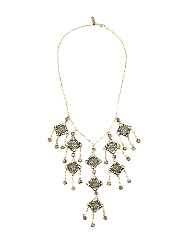 The Lola Statement Brass Necklace