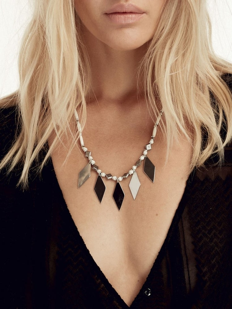 The Niko Silver Necklace
