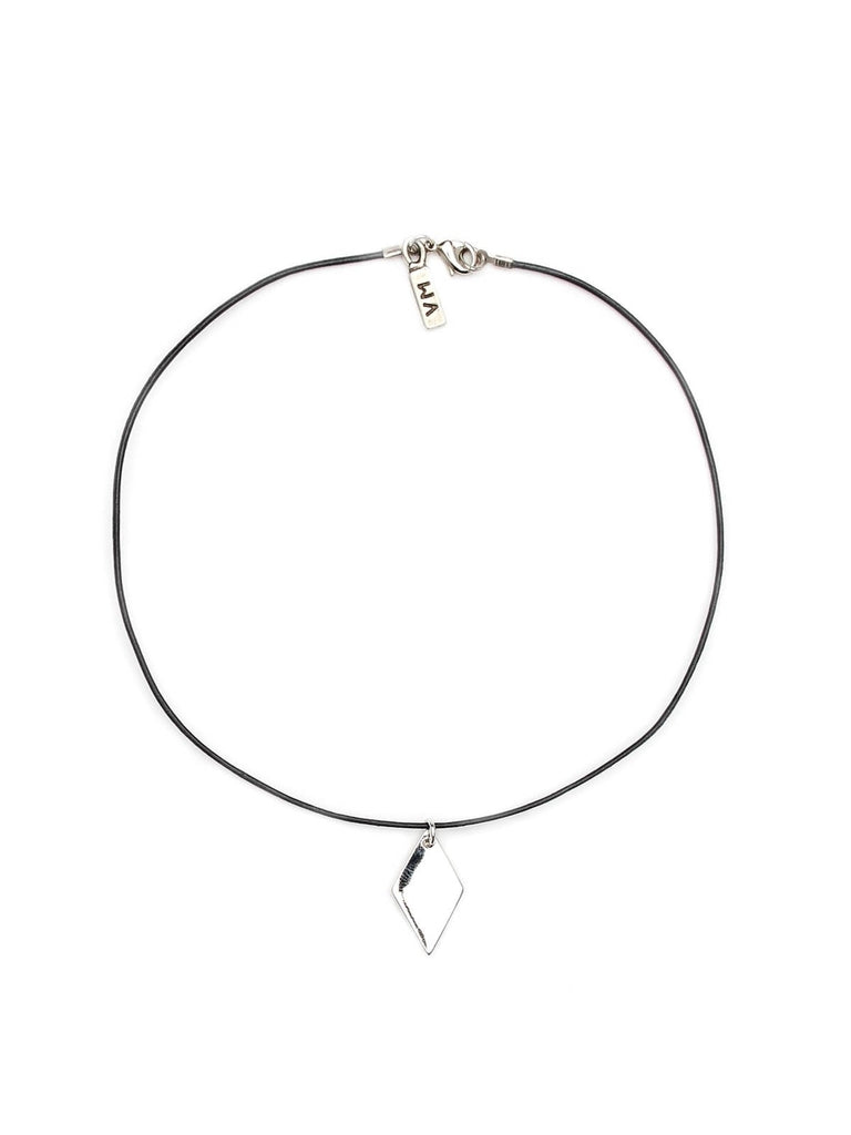 The Diamond Leather Choker