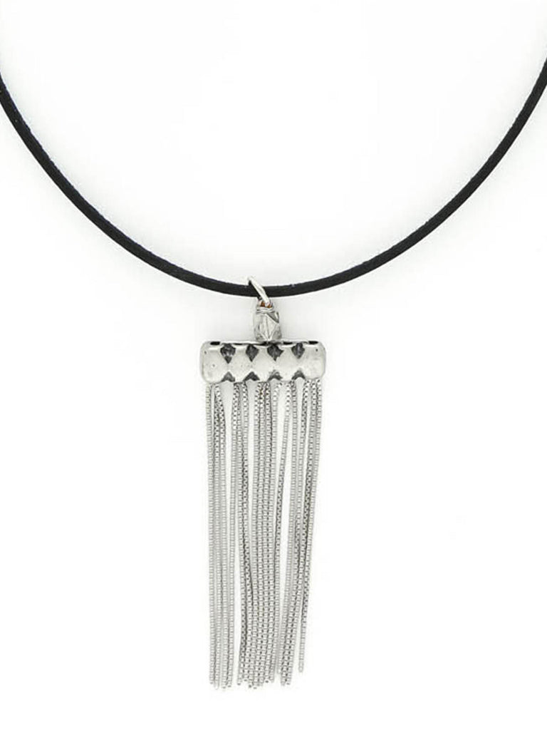 The Valentina Silver Necklace