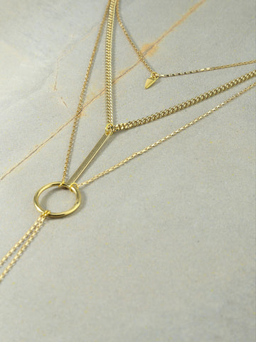 The Juno Gold Necklace