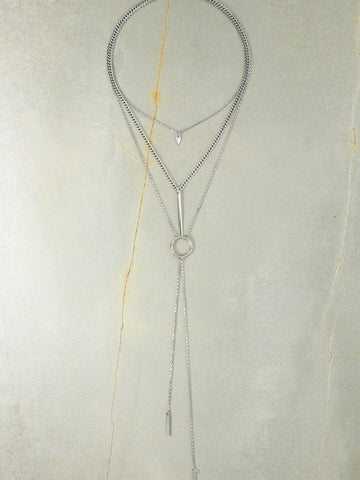 The Juno Silver Necklace