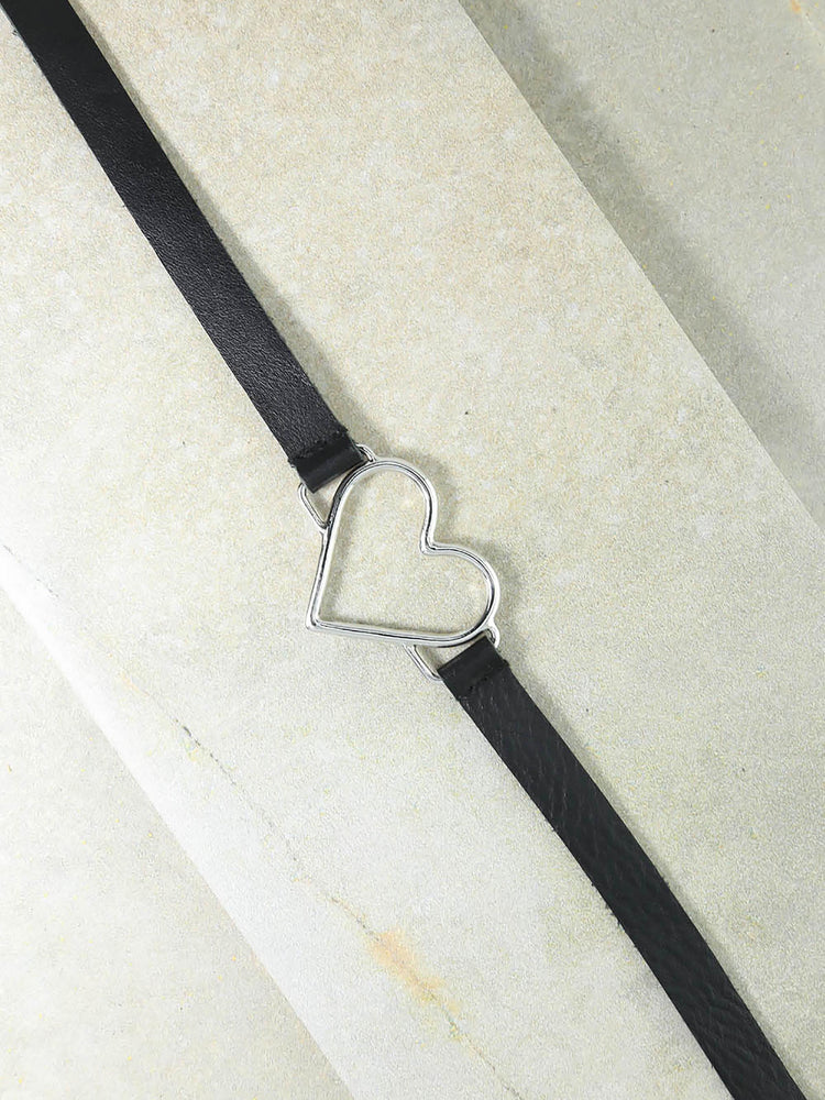 The Silver Black Our Amour Belt
