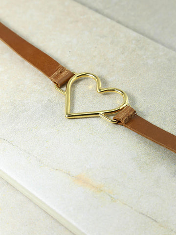 The Gold Brown Our Amour Belt