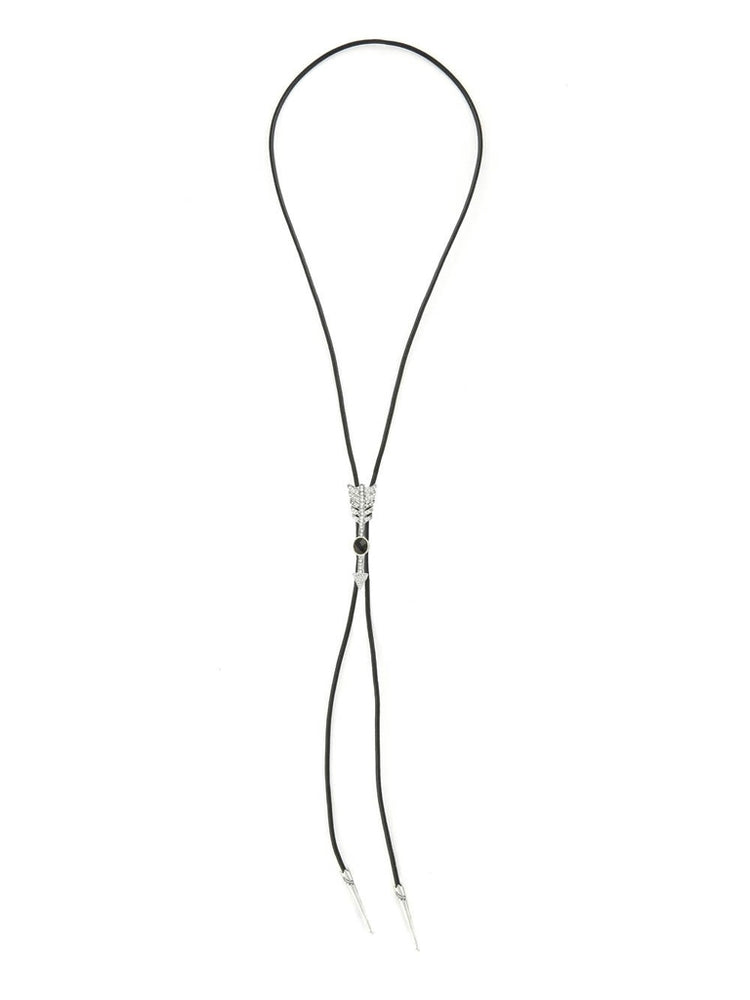 The Valley Silver/Black Onyx Bolo