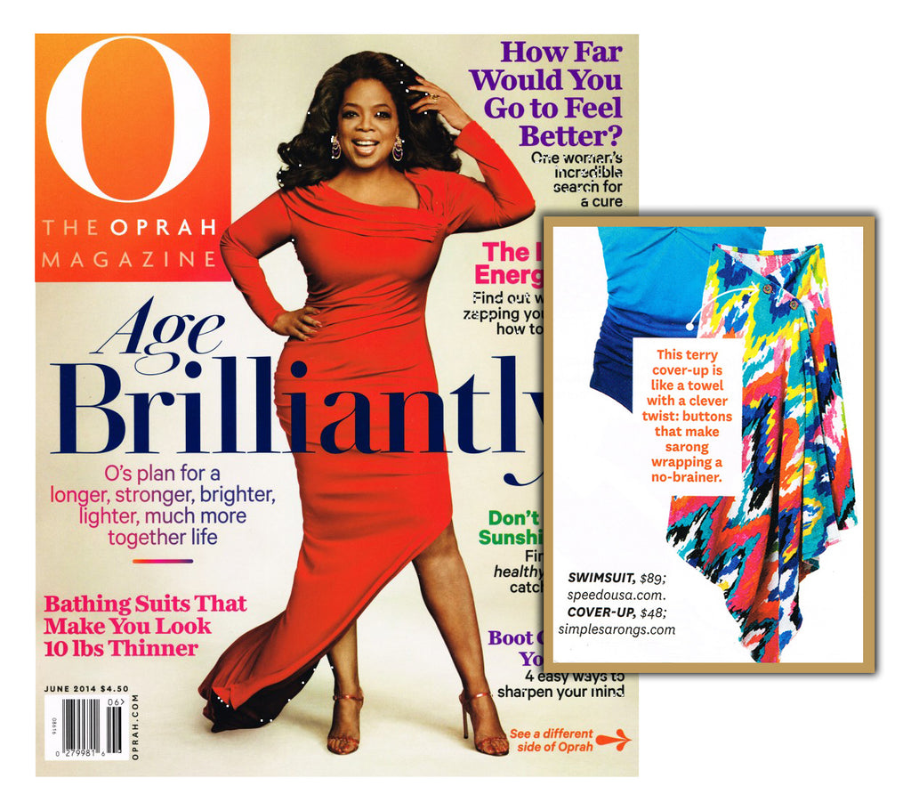 O, The Oprah Magazine, June 2014 Article